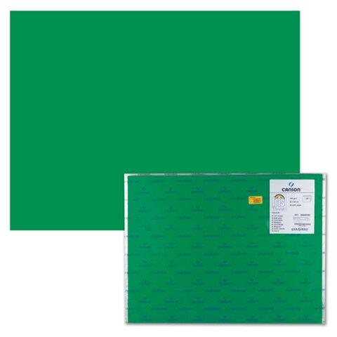 Бумага (картон) CANSON «Iris Vivaldi», А2+, 500×650 мм, 240 г/<wbr/>м<sup>2</sup>, 2-сторонняя, «зеленый мох»