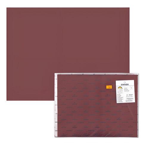 "Бумага (картон) CANSON ""Iris Vivaldi"", А2+, 500х650 мм, 240 г/м2, 2-сторонняя, ""шоколадная"""