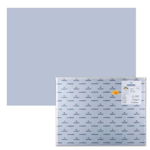 Бумага (картон) CANSON «Iris Vivaldi», А2+, 500×650 мм, 240 г/<wbr/>м<sup>2</sup>, 2-сторонняя, пепельная