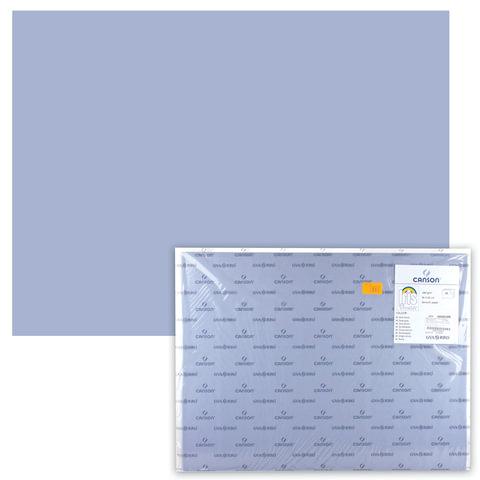 Бумага (картон) CANSON «Iris Vivaldi», А2+, 500×650 мм, 240 г/<wbr/>м<sup>2</sup>, 2-сторонняя, темно-серая