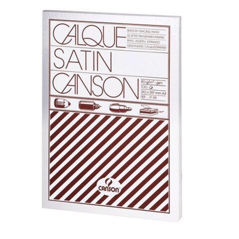 Калька CANSON Microfine А4, 90-95 г/<wbr/>м<sup>2</sup>, 100 листов, белая, атласная, для оргтехники