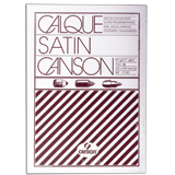 Калька CANSON Microfine А4, 110-115 г/<wbr/>м<sup>2</sup>, 100 листов, белая, атласная, для оргтехники