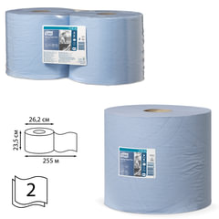 Бумага протирочная TORK (Система W1, W2), комплект 2 шт., Advanced, 750 л./<wbr/>рулоне, 34×23 см, 2-слойная, 130052