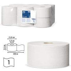 Бумага туалетная 200 м, TORK (Система Т2), комплект 12 шт., Universal, 120197
