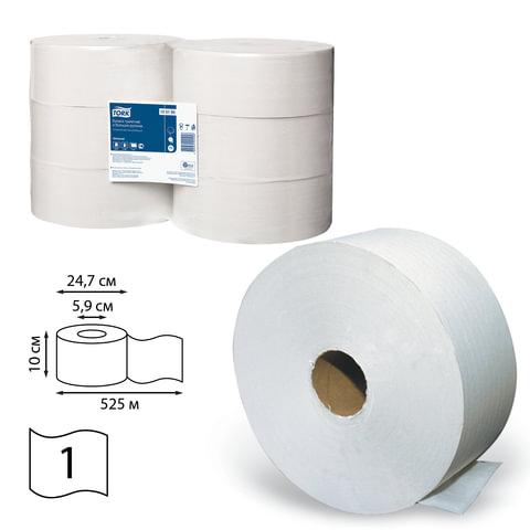 Бумага туалетная 525 м, TORK (Система Т1), комплект 6 шт., Universal, 120195
