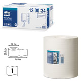 Полотенца бумажные с центральной вытяжкой TORK (M2) Advanced, комплект 6 шт., 165 м, белые, диспенсер 600302, 130034