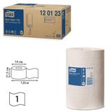 Полотенца бумажные с центральной вытяжкой мини TORK (M1) Universal, комплект 11шт., 120 м, белые, диспенсер 600301, 120123