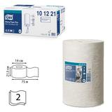 Полотенца бумажные с центральной вытяжкой мини TORK (M1) Advanced, комплект 11 шт., 75 м, 2-х слойные, белые, дисп. 600301, 101221