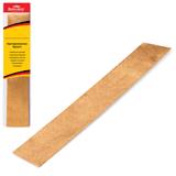 Цветная бумага крепированная BRAUBERG (БРАУБЕРГ), металлик, растяжение до 35%, 50 г/<wbr/>м<sup>2</sup>, европодвес, золотая, 50×100 см