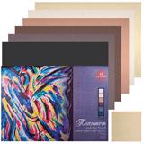 Папка для пастели/<wbr/>планшет А2, 420×594 мм, 18 л., вн. бл. холст 160 г/<wbr/>м<sup>2</sup>, хлопок 40%, «Сладкие грёзы»