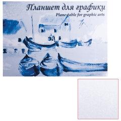 Папка для графики/<wbr/>планшет (скетчбук) А4, 210×297 мм, 20 л., вн. блок ватман 180 г/<wbr/>м<sup>2</sup>, тв. подл., «Кораблики»