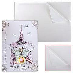 Калька для чертежных и дизайнерских работ, А3, 297×420 мм, 40 л., 40 г/<wbr/>м<sup>2</sup>, в папке