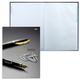 Блокнот 7БЦ, А4, 120 л., обложка ламинированная, 5-цветный блок, HATBER, «Office Book», 205×290 мм