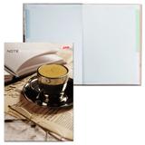 Блокнот 7БЦ, А4, 80 л., обложка ламинированная, 5-цветный блок, HATBER, «Кофе-брейк», 205×290 мм
