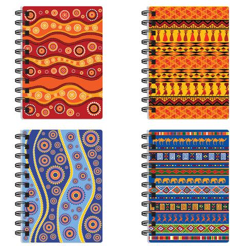 Блокнот А6, 60 л., гребень сбоку, пластиковая обложка, BRAUBERG (БРАУБЕРГ), линия, «Африка», 4 вида, 105×148 мм