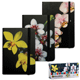 Блокнот 7БЦ, А7, 80 л., на резинке, обложка ламинированная, клетка, BRAUBERG (БРАУБЕРГ), «Цветы», 3 вида, 90×140 мм