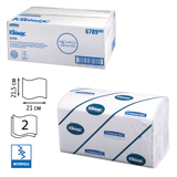 ��������� �������� 186 ��., KIMBERLY-CLARK Kleenex, ����. 15 ��., Ultra, 2-� �����., �����, 21×21,5��, Interfold, 601533-534, 6789
