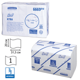 ��������� �������� 240 ��., KIMBERLY-CLARK Scott, �������� 15 ��., Xtra, �����, 31,5×20 ��, Interfold, ��������� 601533, ���. 6669