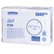 Полотенца бумажные 240 шт., KIMBERLY-CLARK Scott, комплект 15 шт., Xtra, белые, 31,5×20 см, Interfold, диспенсер 601533, АРТ. 6669