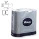 Бумага туалетная KIMBERLY-CLARK Kleenex, 2-х слойная, спайка 4 шт. х 25 м, диспенсер 601542, АРТ. 8449