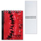 Блокнот А7, 40 л., гребень, HATBER, «iFRESH» («Ассорти»), 65×100 мм