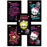 ������� �7, 48 �., �������, 3-� ������� ����, HATBER, «Monster High», 65×100 ��