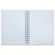 Записная книжка, А6, 80 л., гребень, обложка мелованный картон, HATBER, «iFRESH», 105×145 мм
