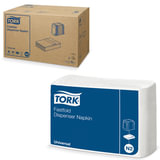 Салфетки TORK (Система N2) Fastfold, комплект 36 шт., 25×30 см, 250 шт., белые, 10903