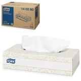 Салфетки косметические TORK (F1) Premium, 2-х слойные, 100 шт. в картонном боксе, белые, диспенсер 601742, 140280