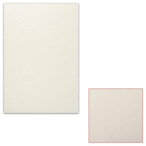Белый картон грунтованный для масляной живописи, 25×35 см, толщина 0,9 мм, масляный грунт, односторонний