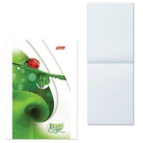 Блокнот А6, 64 л., склейка, обложка мелованный картон, HATBER, «Живые моменты», 87×147 мм
