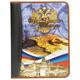 Портфолио ШКОЛЬНИКА, универсальное, папка ламинированный картон, внутренний блок 8 листов, «Герб»