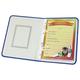 Портфолио ДОШКОЛЬНИКА, универсальное, папка ламинированный картон, внутренний блок 8 листов, с рисунком