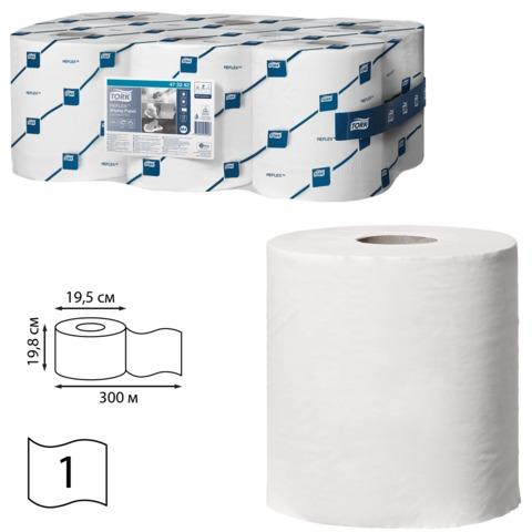 Бумага протирочная/полотенца TORK (M4), комплект 6 шт., Universal, 300 м, с центральной вытяжкой, 473242