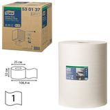 Материал протирочный TORK (W1, W2, W3) Premium, 280 л. в рулоне, 38×32 см, нетканый, диспенсер 601678, 601741, 530137