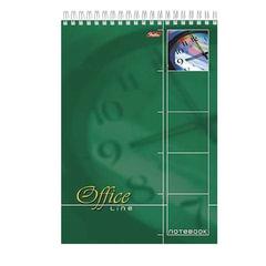 Блокнот А4, 60 л., спираль, жесткая подложка, HATBER, «Office Line», 205×290 мм, 60Б4B1сп 01569