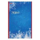 Блокнот А5, 48 л., скоба, выборочный лак, HATBER, «Water» («Вода»), 135×205 мм, 48Б5вмB3 03976