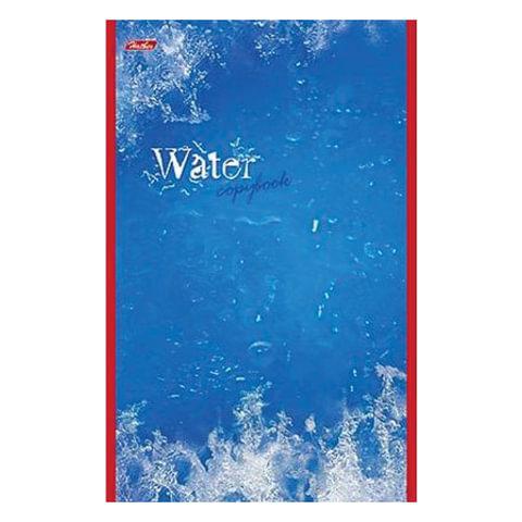 """Блокнот А5, 48 л., скоба, выборочный лак, HATBER, """"Water"""" (""""Вода""""), 135х205 мм, 48Б5вмB3 03976"""