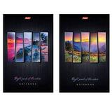 Блокнот А5, 40 л., склейка, выборочный лак, HATBER, «Яркие краски природы», 145×205 мм, 40Б5вмB1к