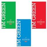 Блокнот А6, 64 л., склейка, мелованный картон обложка, HATBER, «I am Colour» («Однотонный»), 87×147 мм, 64Б6B1к