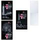 Блокнот А6, 64 л., склейка, мелованный картон обложка, HATBER, «Города», 87×147 мм