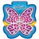 Блокнот А6, 60 л., гребень, фигурная высечка, HATBER, «Butterfly»