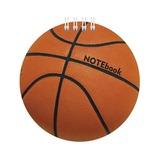 Блокнот А6, 60 л., гребень, фигурная высечка, HATBER, «Баскетбол», 60Б6Aгр 11794