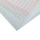 Блокнот А7, 48 л., склейка, 3-х цветный блок, HATBER, «Кеды», 65×100 мм