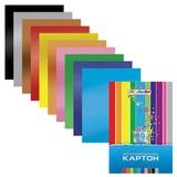 Цветной картон, А4, фольгинированный, 10 листов, 10 цветов, HATBER, «Creative», 195×280 мм