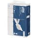 Полотенце бумажное 190 шт., TORK (H2) Advanced, 2-слойное, белое, 23,4×21,3 см, Multifold, диспенсеры 600282, 601659-660