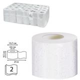 Бумага туалетная 25 м, VEIRO Professional Premium, комплект 48 шт., 2-х слойная, диспенсер 601826