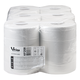Полотенца бумажные с центральной вытяжкой VEIRO Professional(C1/<wbr/>C2), комп. 6 шт., Comfort, 100 м, 2-х сл., белые, диспенсер 600302