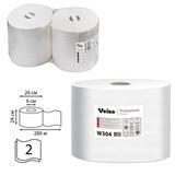 Бумага протирочная VEIRO (P1/<wbr/>P2), комплект 2 шт., Premium, 800 листов в рулоне, 24×35 см, 2-х слойная