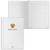 Книга учета, 80 л., А4, 210×295 мм, HATBER, обложка твердая, клетка, «Герб»